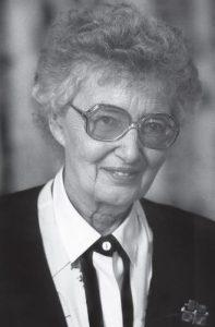 The OHS remembers Dr. Jean Robertson Burnet, June 10, 1920 – September 14, 2009