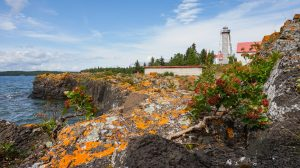 Porphyry Point Lighthouse, copyright Canadian Lighthouses of Lake Superior (CLLS)