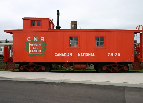 Thunder Bay Railway Historical Society Saves & Restores Historic CNR Caboose