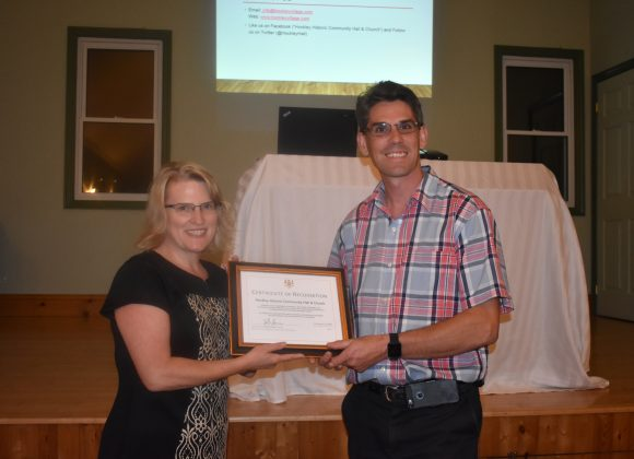 Minister Jones Recognizes OHS Affiliate Hockley Historic Community Hall & Church