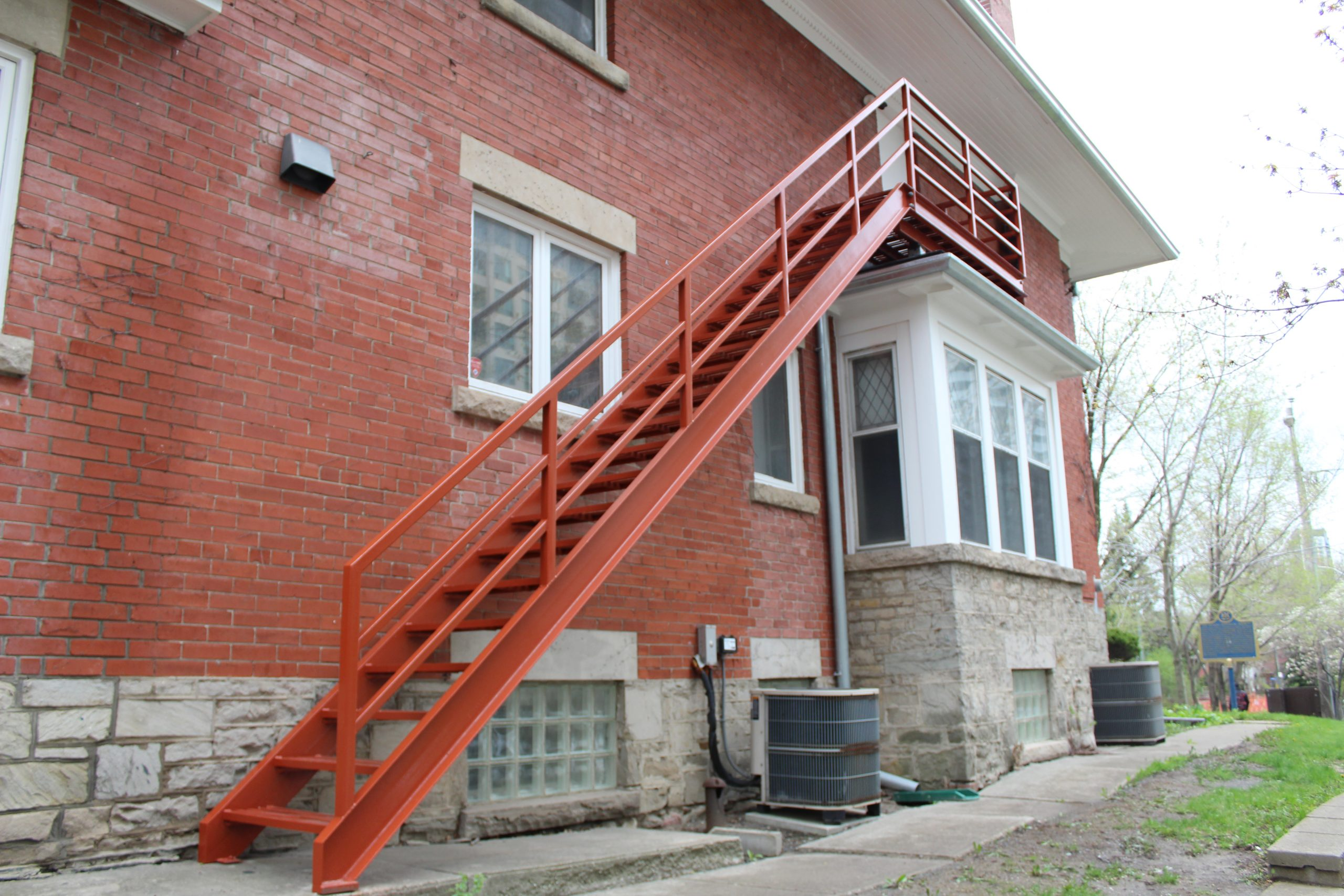 Fig. 48. Fire Escape Complete