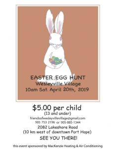 Friends of Wesleyville Village Easter Egg Hunt 2019