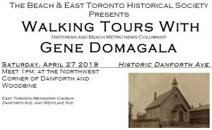 TBETHS April 27 2019 Walking Tour