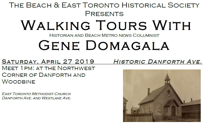 TBETHS April 27 2019 Walking Tour