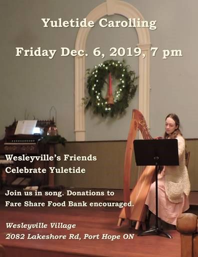 Wesleyville Carolling 2019