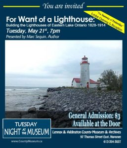 For Want of a Lighthouse Poster