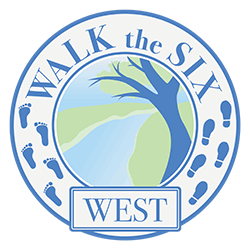 Walk The Six West Logo