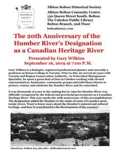 ABHS Sept Invite Gary Wilkins Humber Anniversary