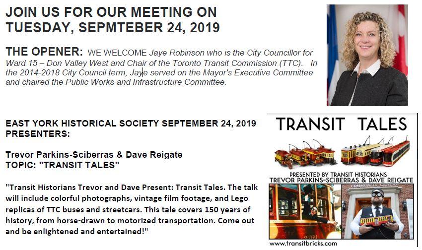 EYHS September 2019 Meeting