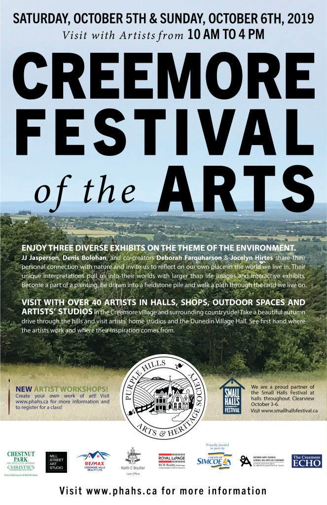 Creemore Festival of the Arts 2019