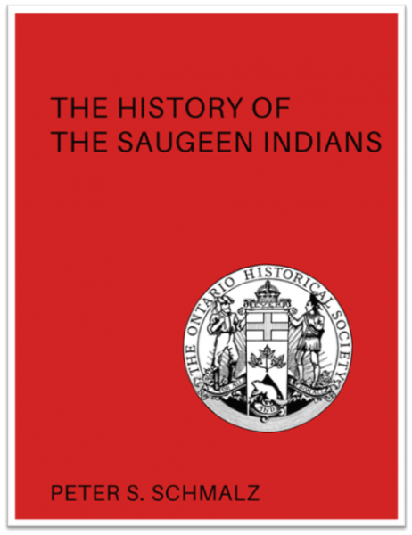 The History of the Saugeen Indians (Cover)