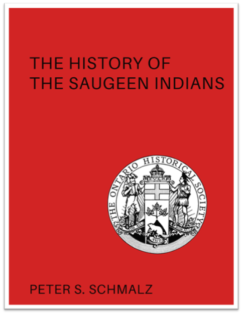 The History of the Saugeen Indians Cover
