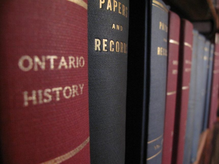 OHS Launches Ontario History Journal Digital Archive