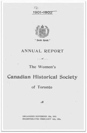 1900-1901 Annual Report of the WCHST Cover