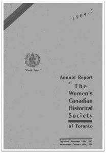 1904-1905 Annual Report of the WCHST Cover