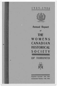 1905-1906 Annual Report of the WCHST Cover