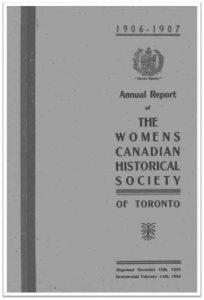 1906-1907 Annual Report of the WCHST Cover