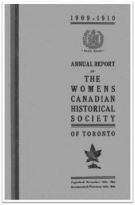 1909-1910 Annual Report of the WCHST Cover