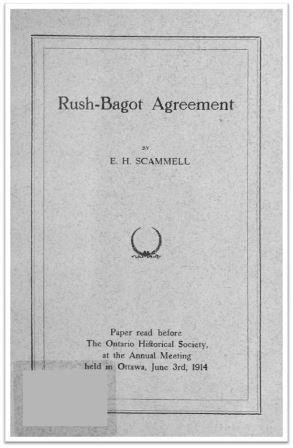 1914 Rush-Bagot Agreement Cover