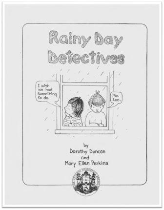 1984 Rainy Day Detectives Cover