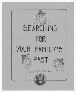 1988 Searching for Your Family's Past Cover