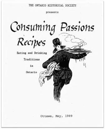 1989 Consuming Passions Recipes Cover
