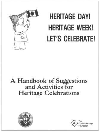 1989 Heritage Celebrations Cover