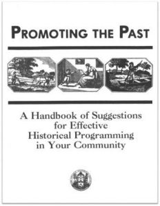 1990 Promoting the Past Cover