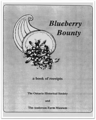 1992 Blueberry Bounty Cover