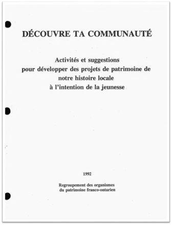 1992 Découvre ta Communauté Cover