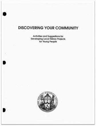 1992 Discovering Your Community Cover