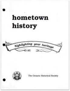 1992 Hometown History Cover