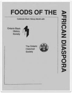 1993 Foods of the African Diaspora Cover