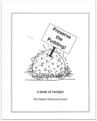 1993 Preserve the Pudding Cover