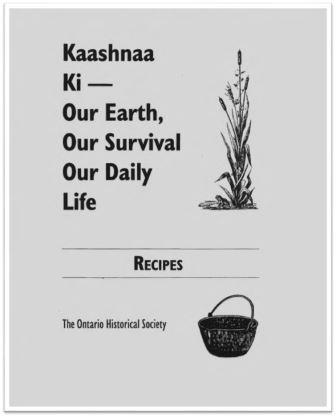 1994 Kaashnaa Ki Recipes Cover