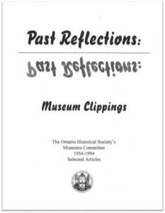 1994 Past Reflections - Museum Clippings Cover