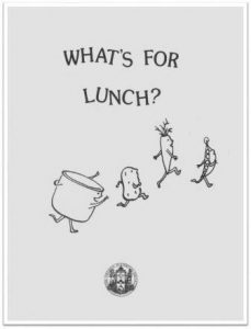 1994 What's for Lunch Cover