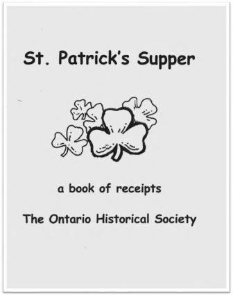 1999 St Patrick's Supper Cover