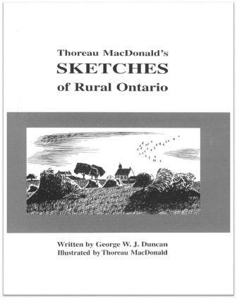 2004 Thoreau MacDonald's Sketches of Rural Ontario Cover