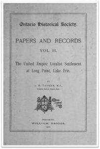 Ontario History 1900 v2 Cover
