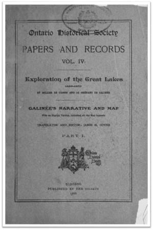 Ontario History 1903 v4 Cover