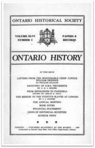 Ontario History 1954 v46 n2 Spring Cover