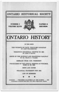 Ontario History 1955 v47 n2 Spring Cover