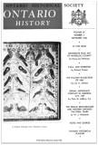Ontario History 1968 v60 n3 September Cover Small