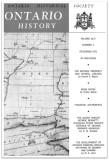 Ontario History 1972 v64 n4 December Cover Small