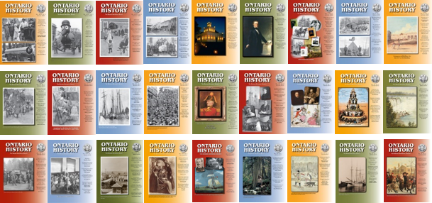 Ontario History Covers