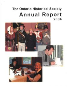 2004 OHS Annual Report Cover
