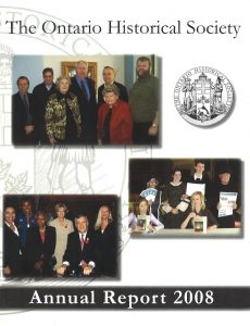 2008 OHS Annual Report Cover