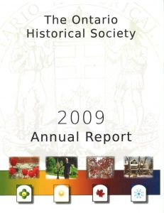 2009 OHS Annual Report Cover