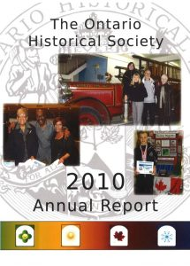 2010 OHS Annual Report Cover